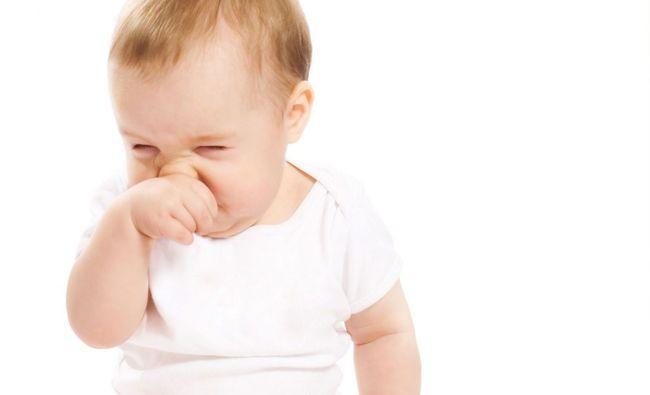 Насморк у ребенка 3 месяца