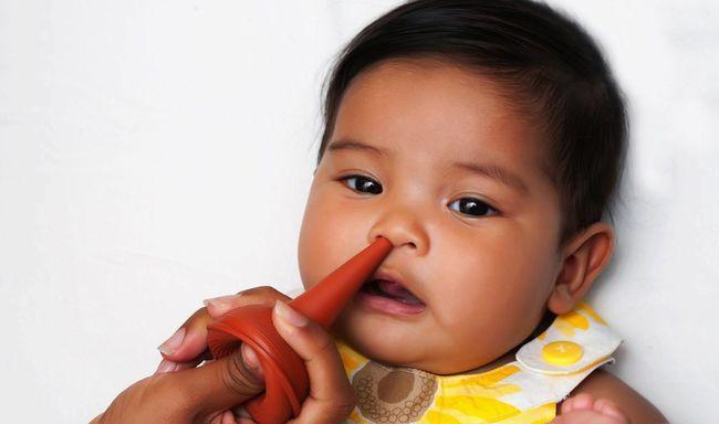 Насморк у 5 месячного ребенка - чем лечить
